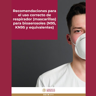 Uso correcto de mascarillas y respiradores